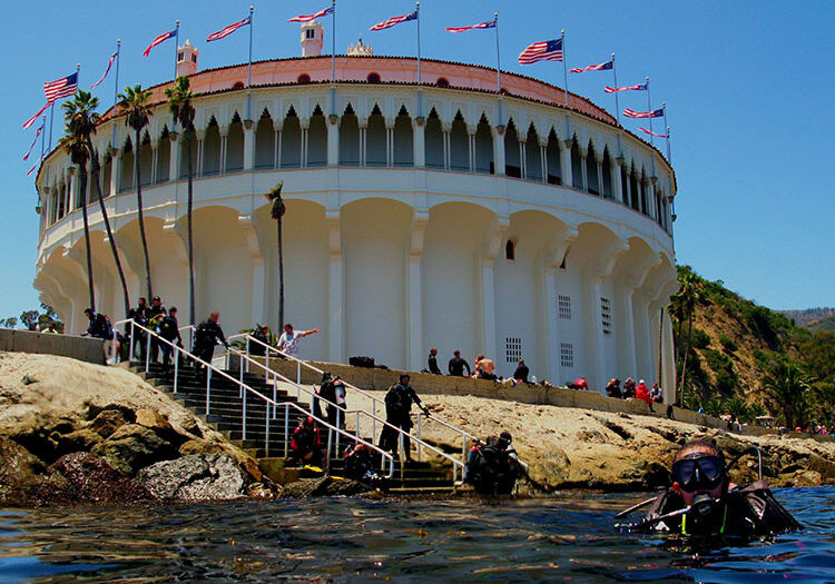 Casino Building; Casino Point Dive Park; Catalina Island; Avalon; California